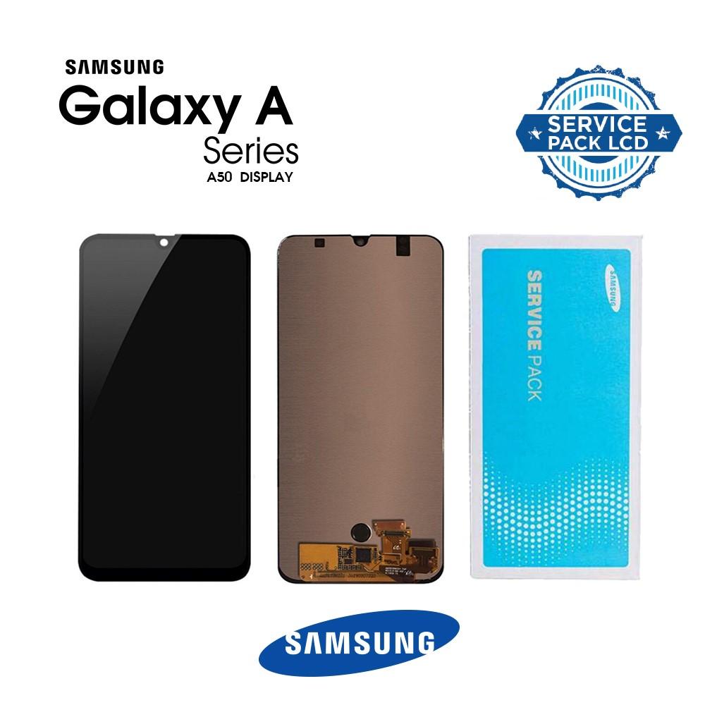 Pantalla para Samsung Galaxy A50 2019 A505 Negro GH82-19204A/19714A/19289A/19713A Service Pack Original