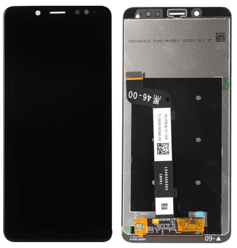 Pantalla para Xiaomi Redmi Note 5 / Note 5 Pro LCD Negro OEM