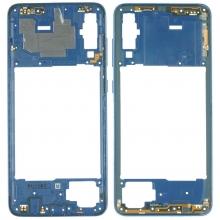 Chasis Intermedio para Samsung Galaxy A70 A705 Azul
