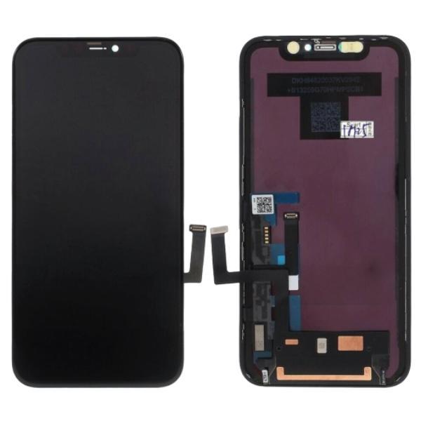 Pantalla para Apple iPhone 11 Negro Compatible LCD-TFT OEM (Sin Componentes)