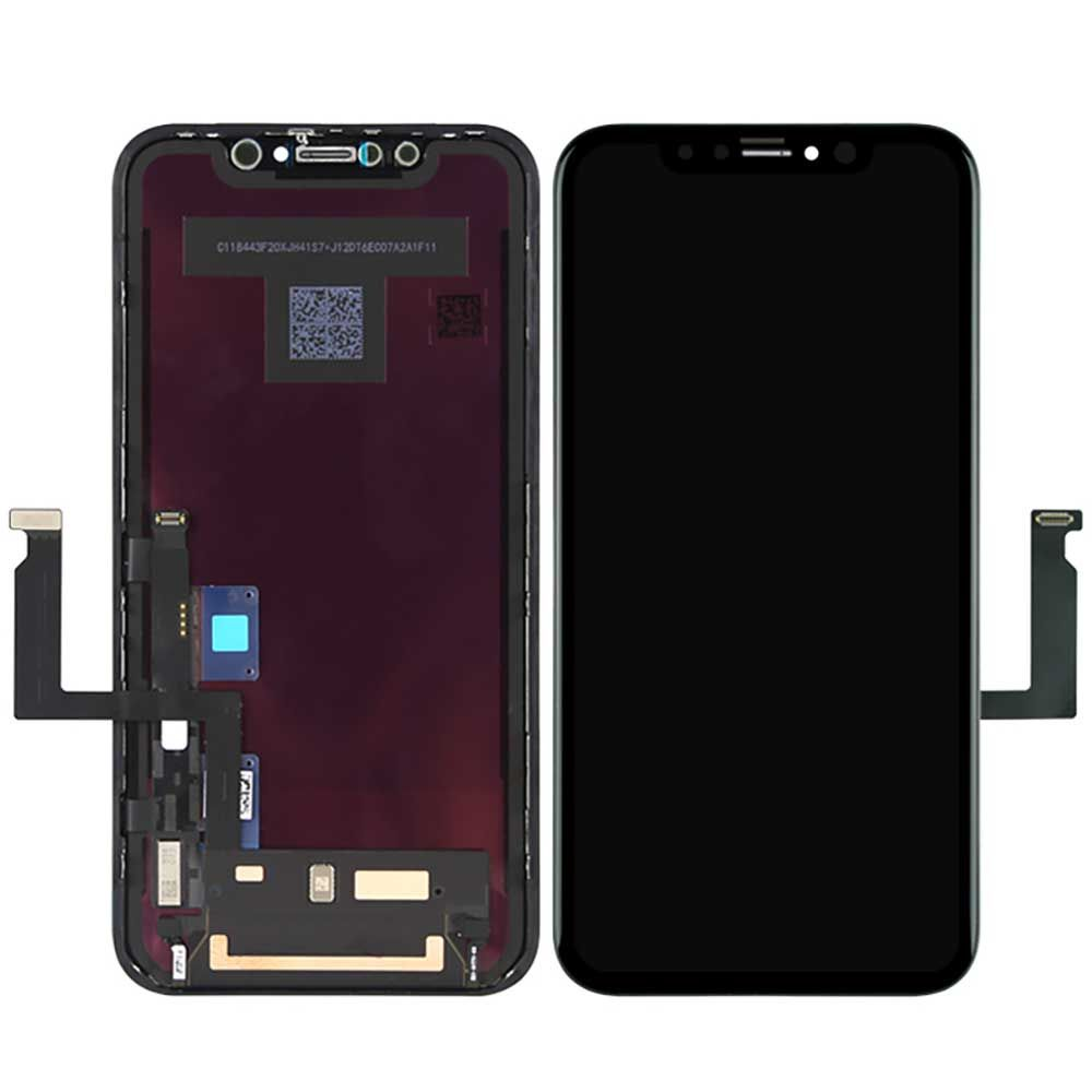 Pantalla para Apple iPhone XR Negro Compatible Standard In-Cell TFT ZY (Sin Componentes)