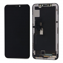 Pantalla para Apple iPhone X Negro Compatible Premium Soft OLED GX (Sin Componentes)